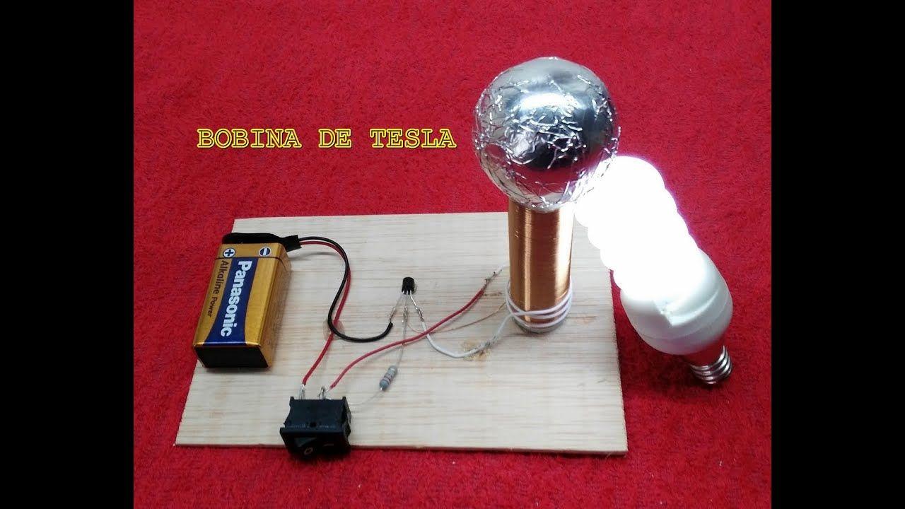 Como Hacer Una Bobina De Tesla Casera Bobina De Tesla Bobina De Tesla Casera Tesla