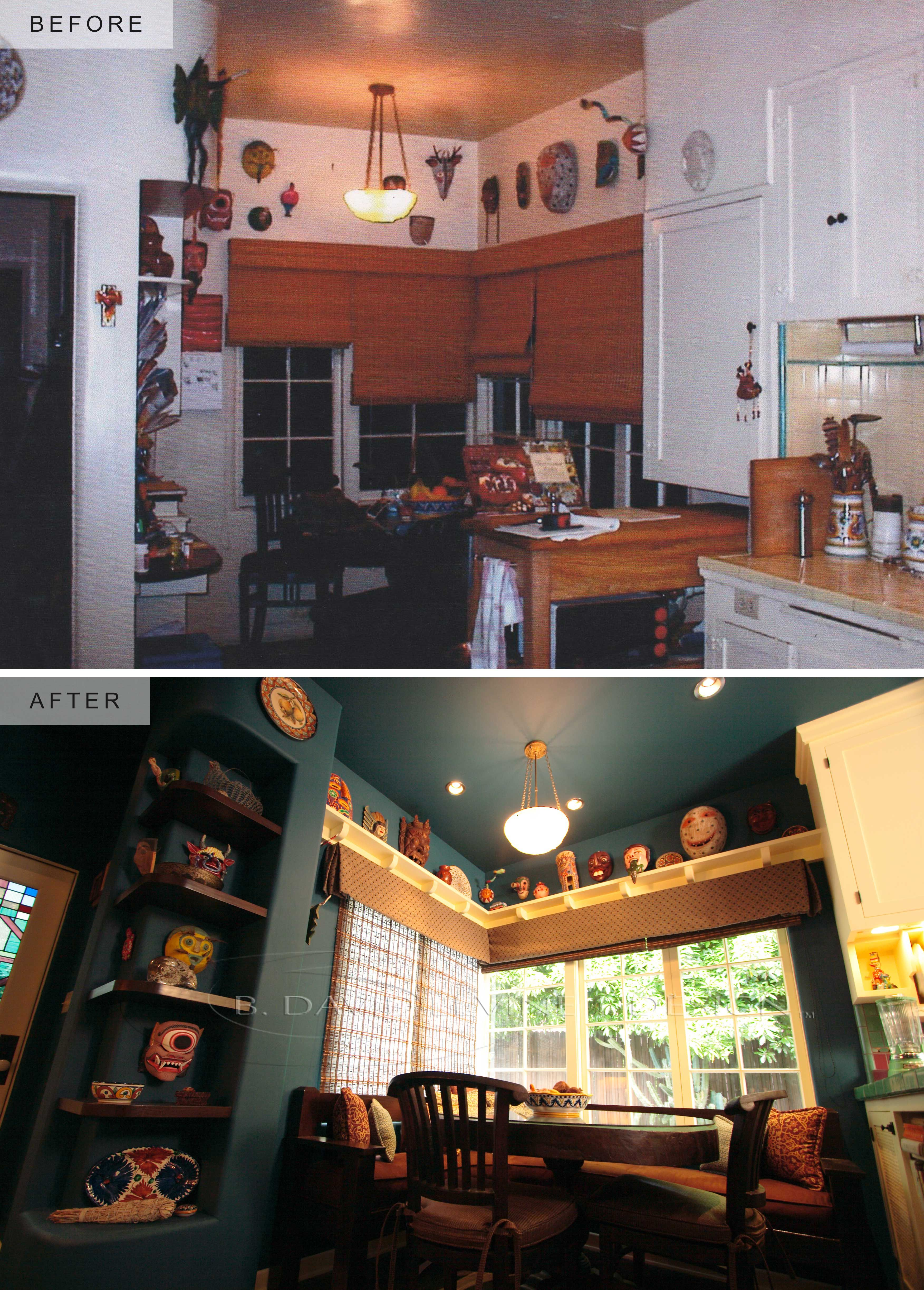 Before and After - HGTV Kitchen