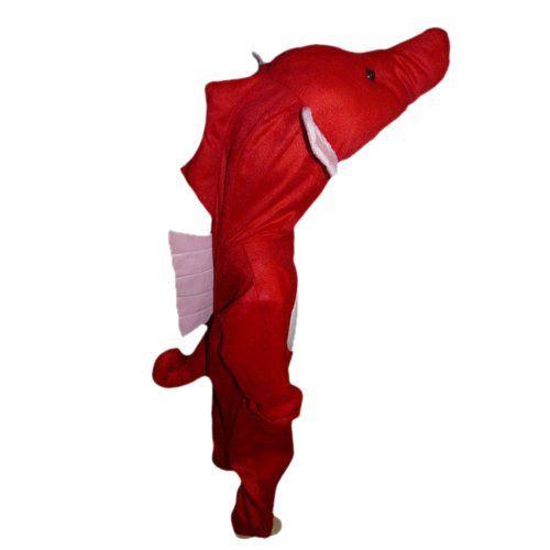 AN48 5-7 Jahre Seepferd Kostüm Seepferde Kostüme Seepferdchen Fasching Karneval: Amazon.de: Spielzeug