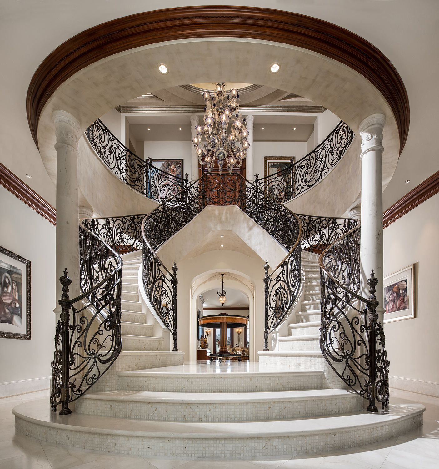 Stair Design Budget And Important Things To Consider: Staircase Design, Double Staircase