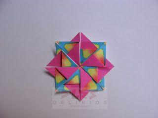 DELIRIOS -Arte en Papel-: Mandala paso a paso.
