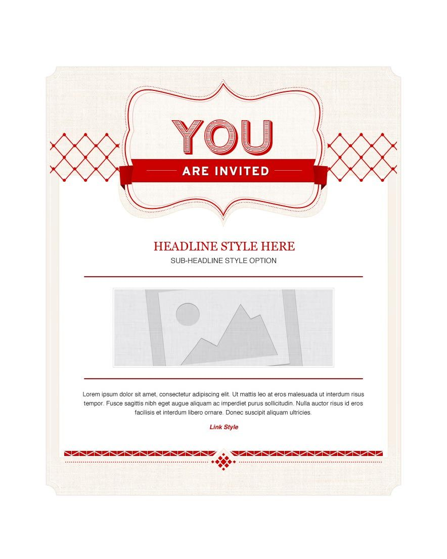 Invitation Email Marketing Templates - Invitation Email Templates | Emma Email Marketing
