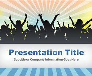 entertainment powerpoint template is a free fun powerpoint, Modern powerpoint