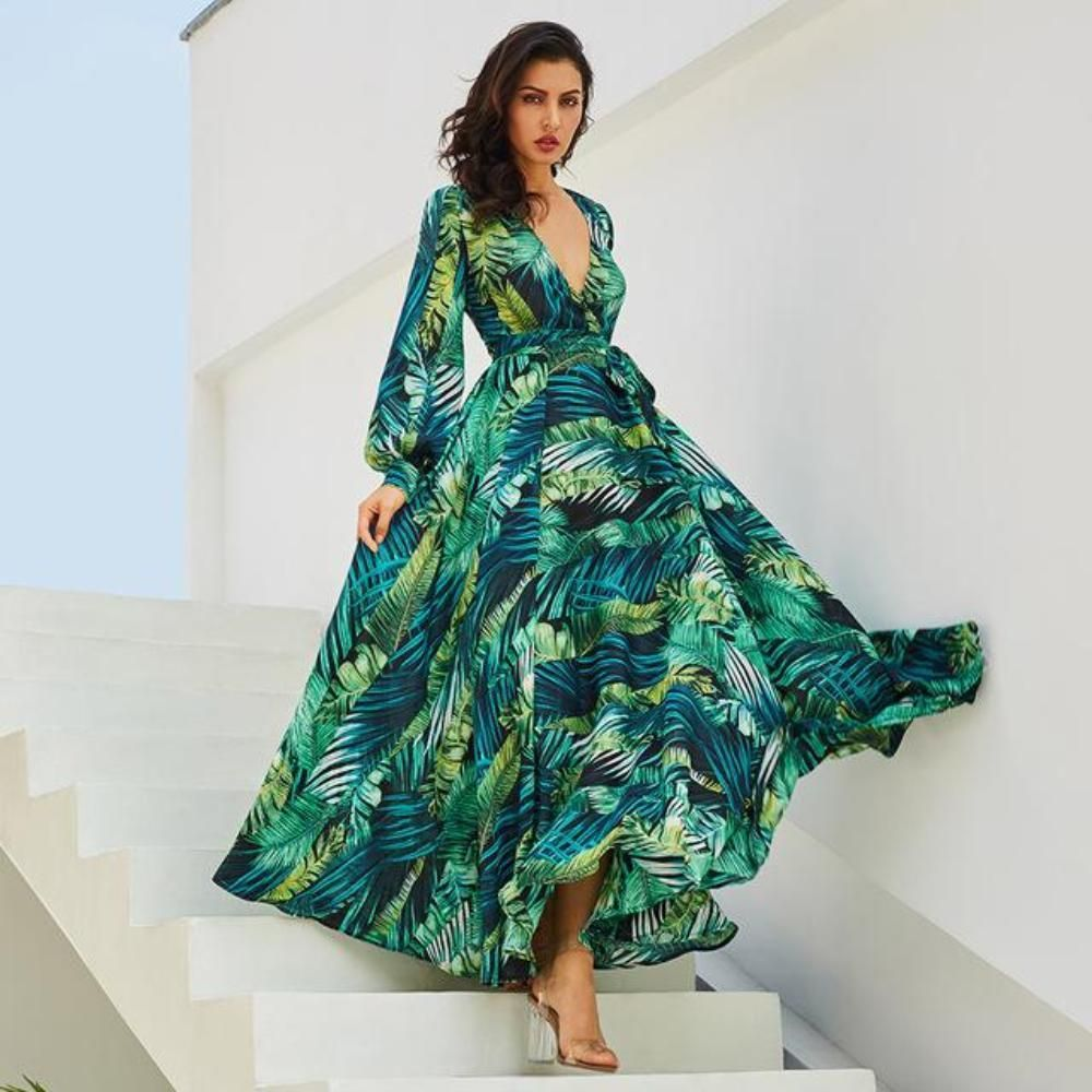 2020 plus size long sleeve autumn winter Peplum dress elegant blue Mid Calf Robe Female clothing cocktail party Tunic fat dress