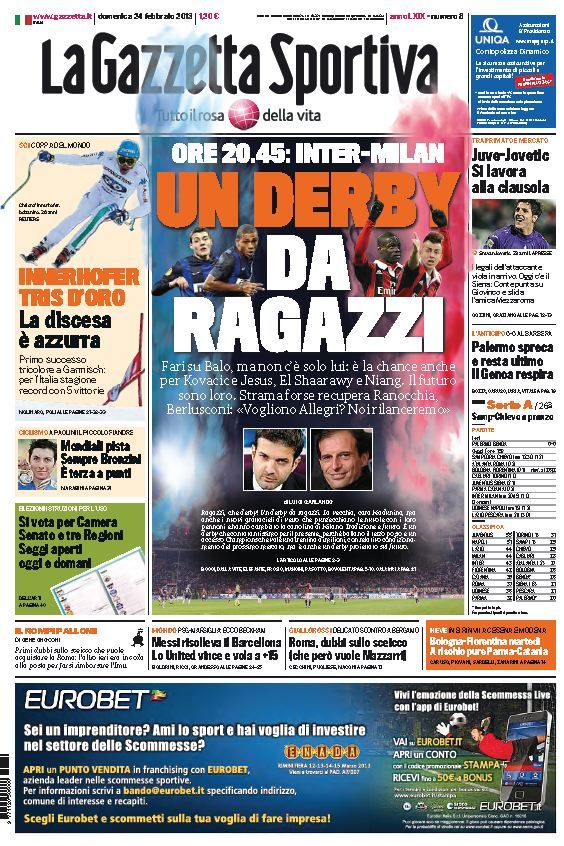 La Gazzetta dello Sport (240213) Italian True PDF 44