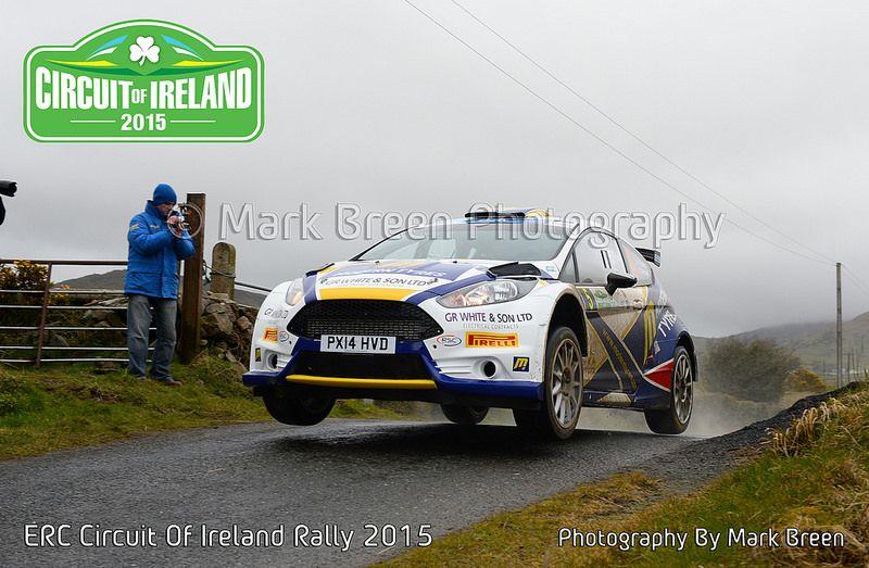 FIA ERC Circuit Of Ireland Rally 2015 Rally, Circuit