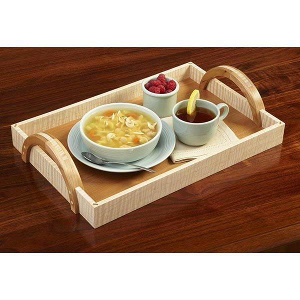 Arch-Handle Serving Tray Woodworking Plan, Gifts & Decorations Kitchen Accessories