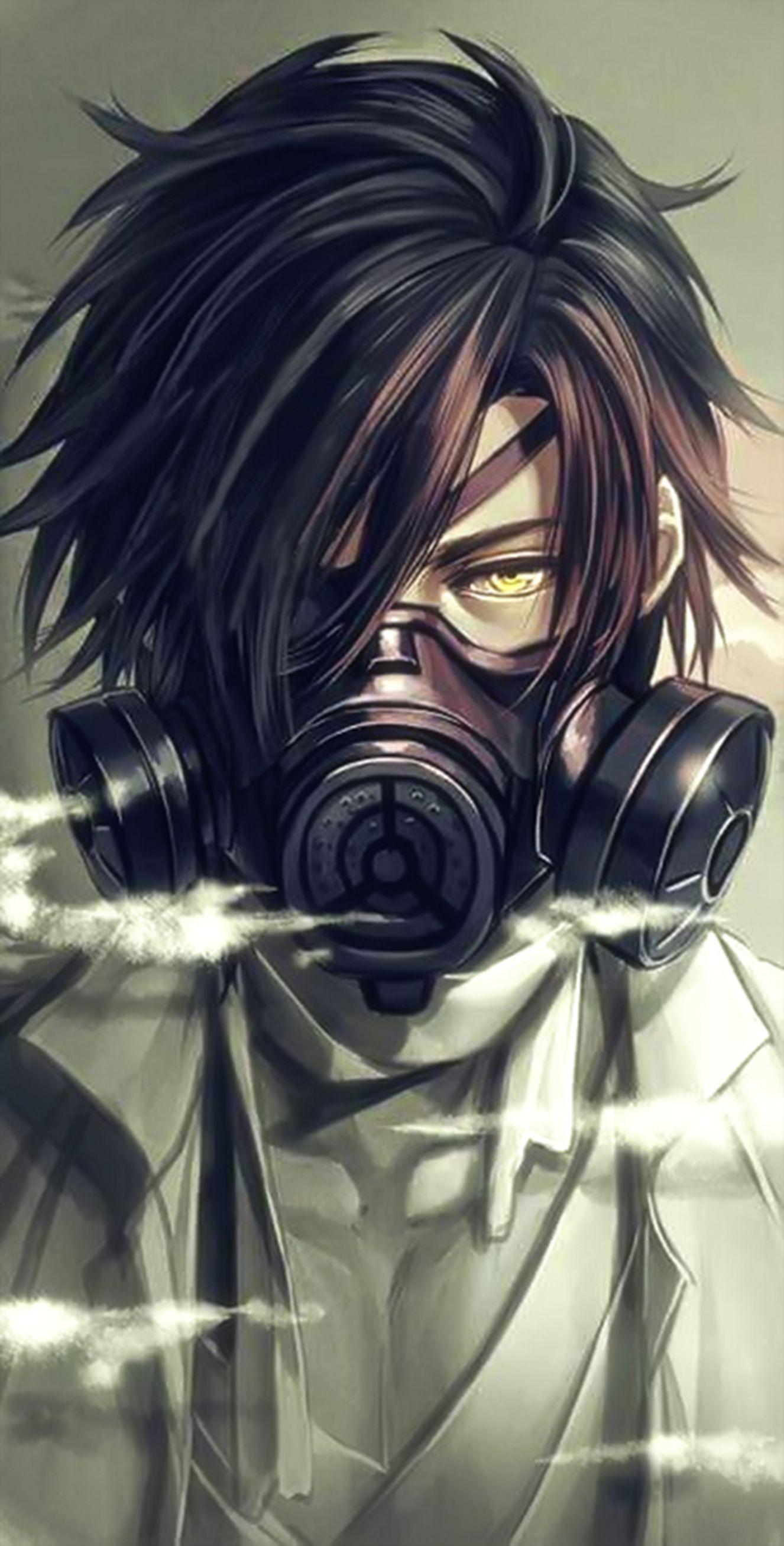 Anime Boy Mask Sparkstar Tv Edit Anime Guys Cool Anime Guys Dark Anime