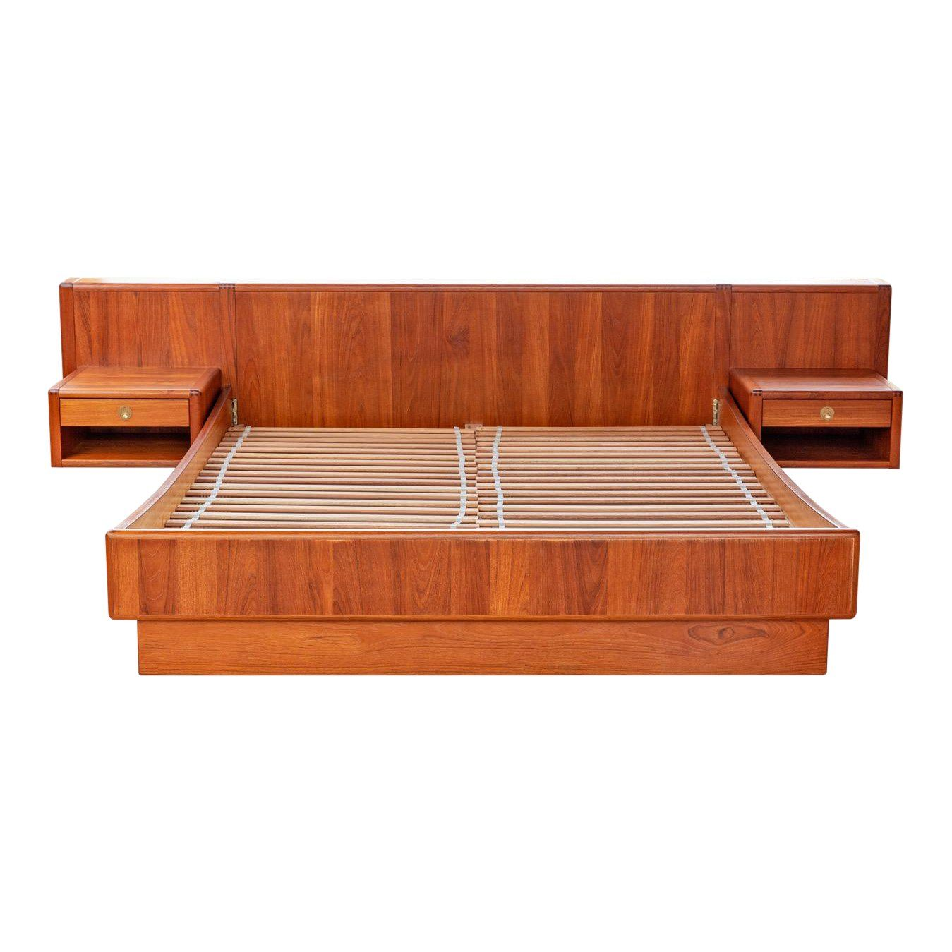 D Scan Danish Modern Cal King Platform Bed Chairish King