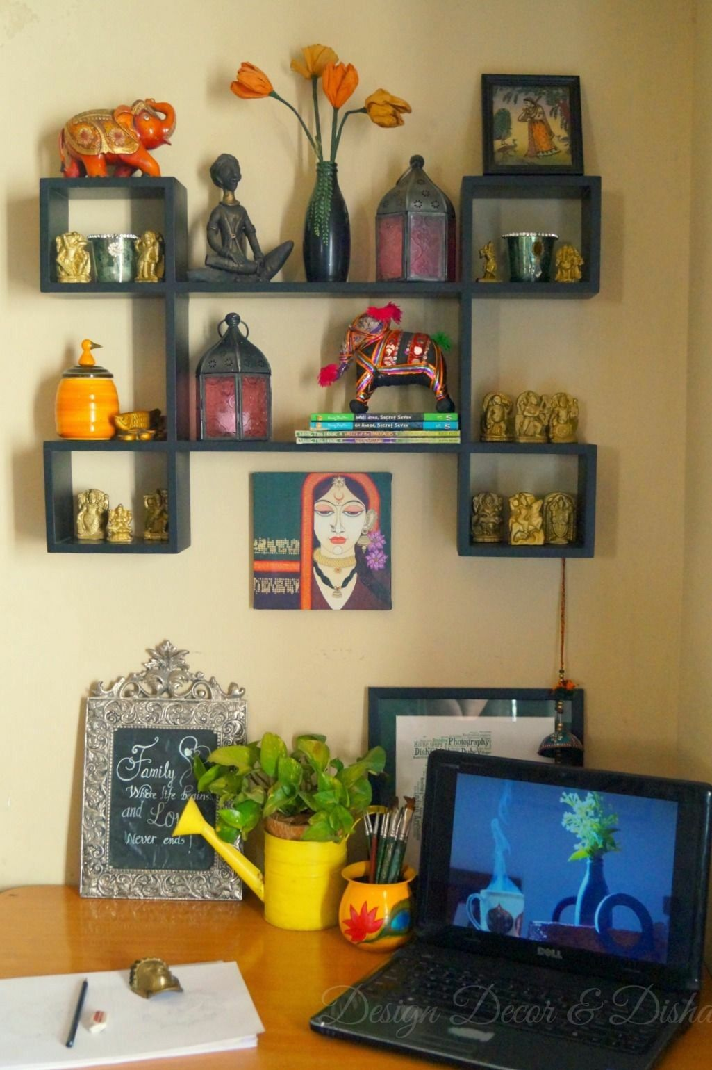 Pin By Sandhya Samant On Living Ideas Eclectic Wall Decor