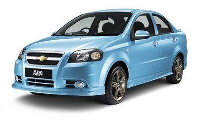 Chevrolet Aveo 1 4 Lt