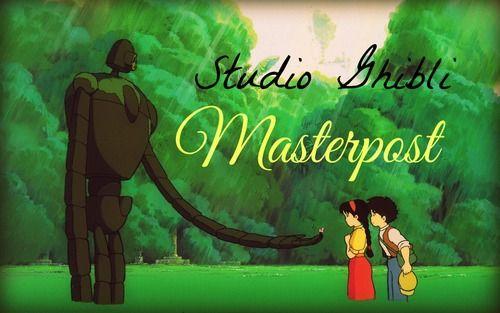 Links To Japeng Versions For Every Studio Ghibli Film Japan