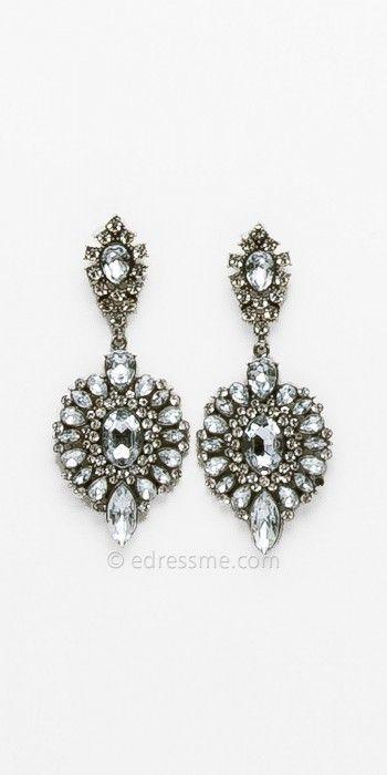 d0469d59f6 Camille La Vie Cluster Rhinestone Drop Earrings - ShopStyle Women ...