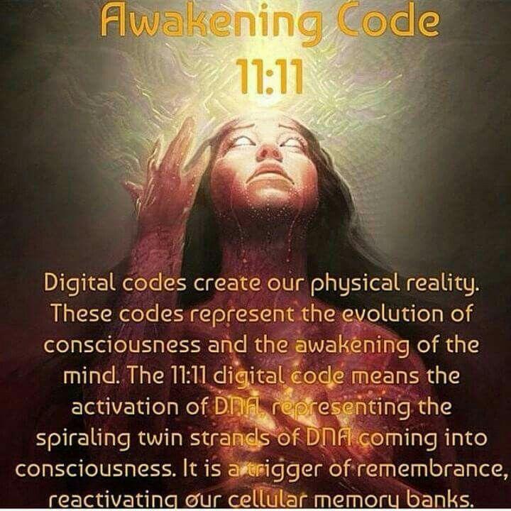 1111 Awakening Code 1111phenomenon 1111 1111 Pinterest