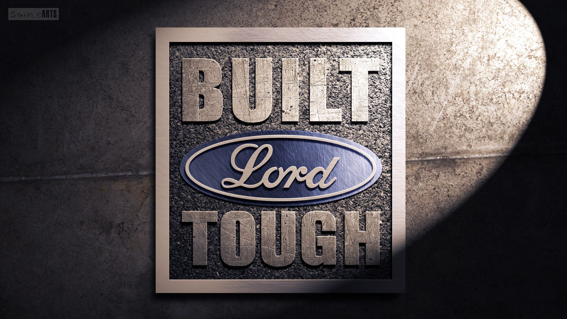 Lord Tough Isaiah 28 16 By Symplearts On Deviantart Ford Logo Wallpapers Built Ford Tough Ford Logo