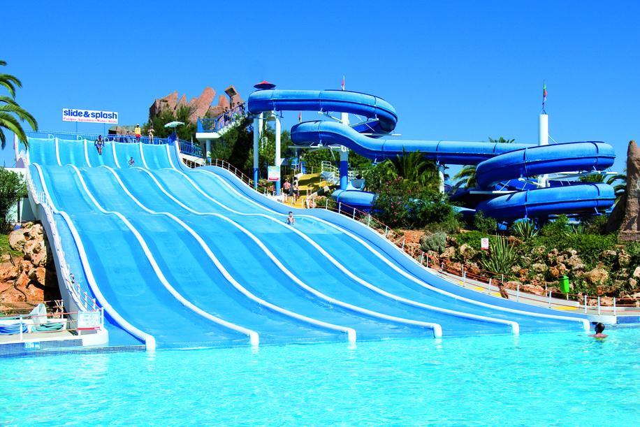 PORTUGAL Slide and Splash water park, Estômbar, Lagoa