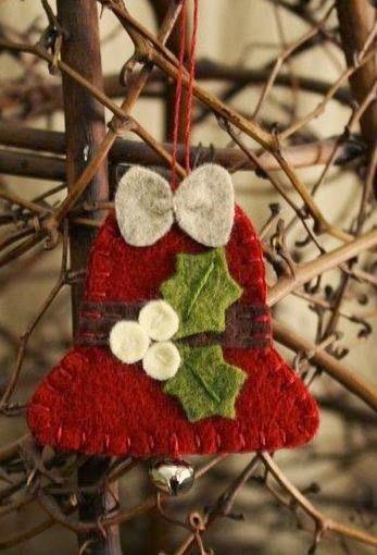 campanas navideas ideas para decorar en navidad - Campanas Navideas