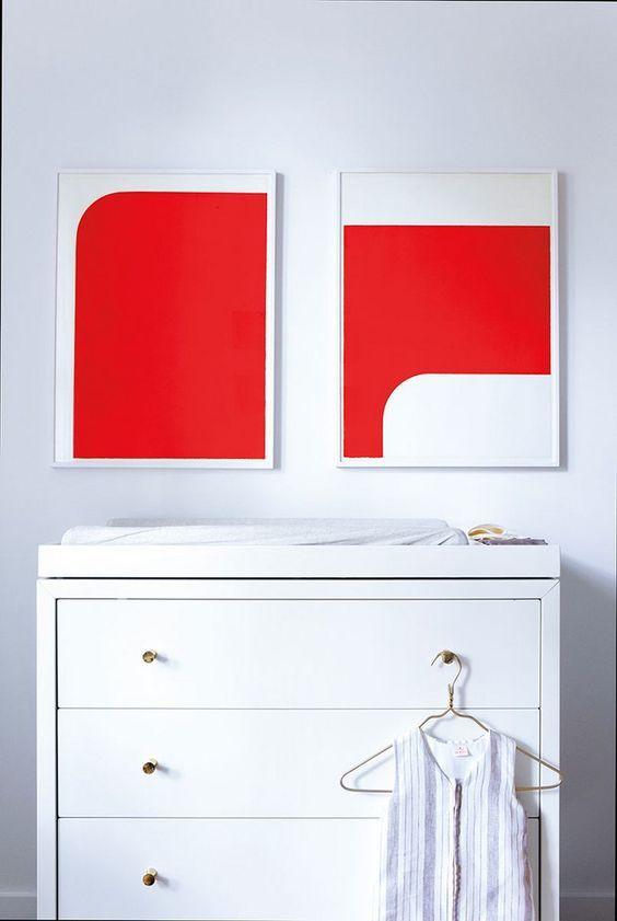 Colores para dormitorios modernos, combinacion de colores para