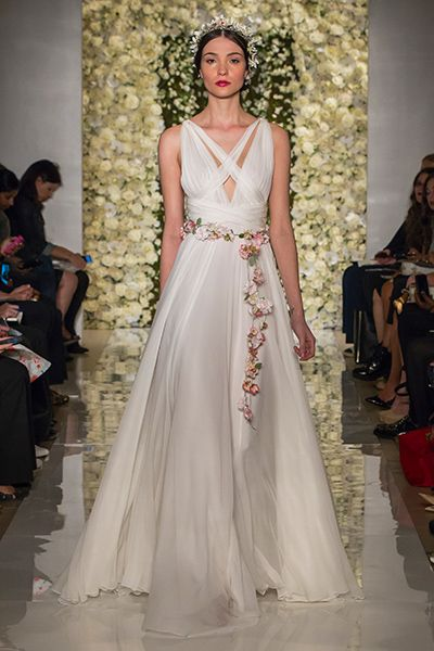 Wedding gown by Reem Acra