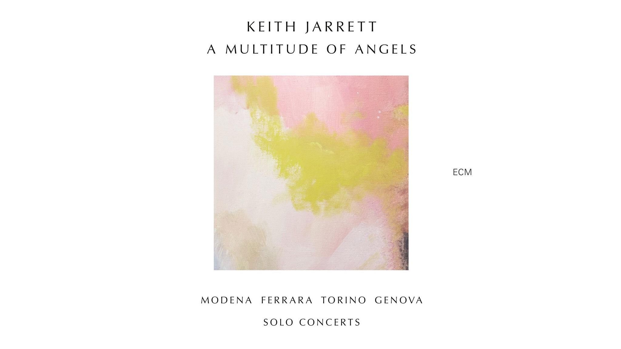Keith jarretta multitude of angels album art cover art art music