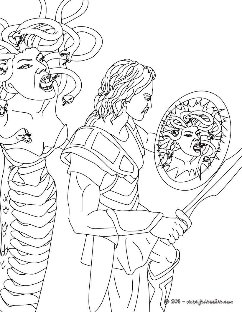 méduse mythologie dessin - Recherche Google | Inspirations Voyageons ...