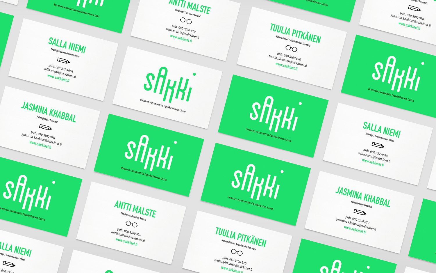 New Brand Identity For Sakki By Bond Bp O Business Cards And Logos