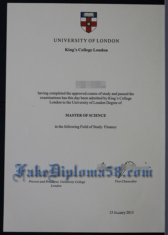 where to buy a fake KCL degree, buy fake Kings college London ...