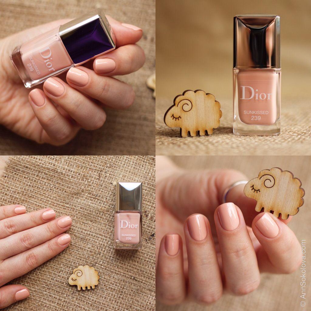 Dior #464 Sundown | My Nail Polish Swatches | Pinterest