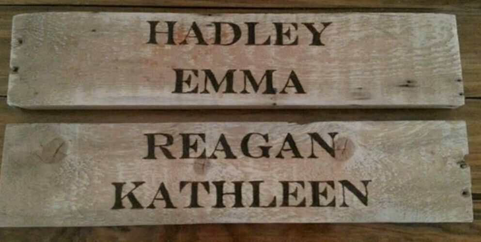 Hand #burnt #wooden #signs #freehand #rustic #pallet #pallets #kids #rooms