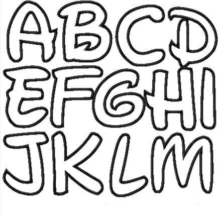 Small Printable Pdf Alphabet Letters With Images Alphabet