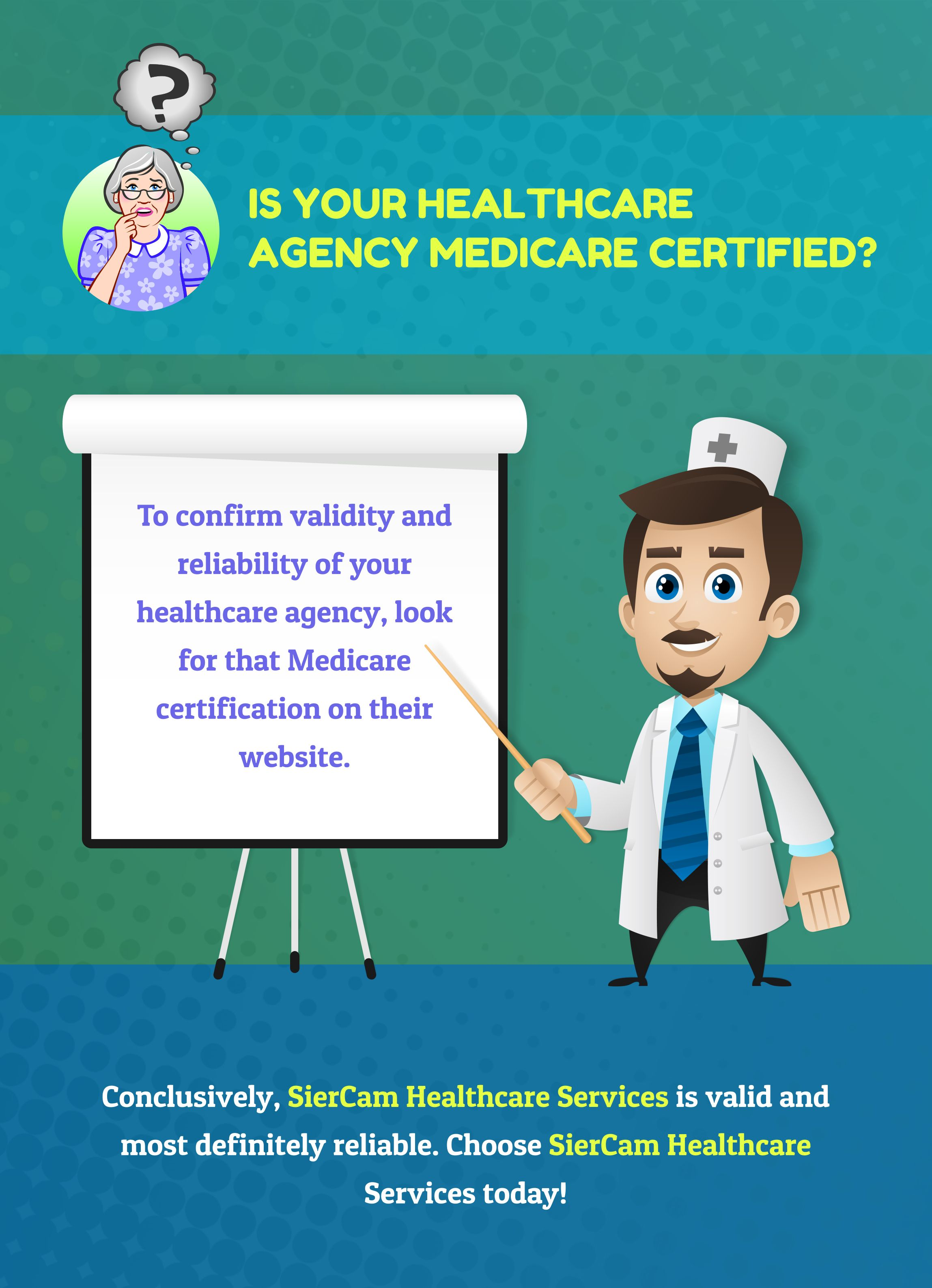 Is your healthcare agency medicare certified medicare
