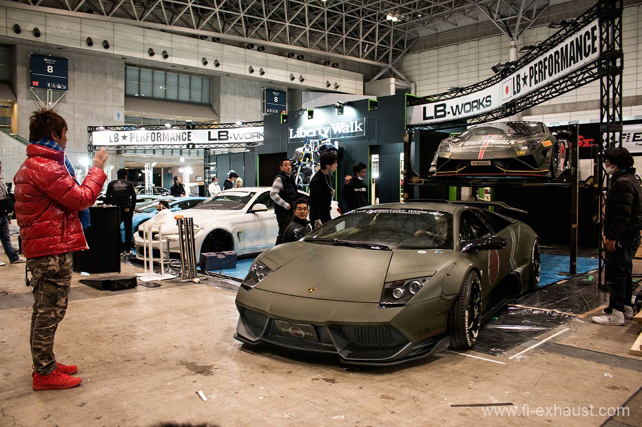 Liberty Walk Lamborghini Murcielago Lp640 With Fi Exhaust Is Coming