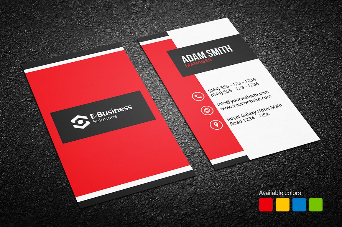 Creative Business Card 16 - http://graphicpick.com/downloads ...