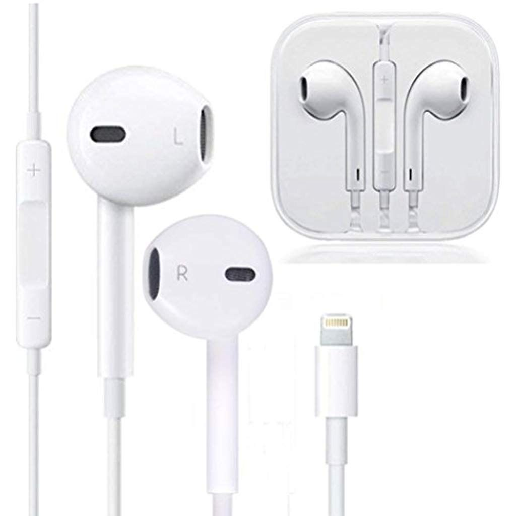 Earbuds Microphone Earphones Stereo Headphones Noise Isolating Headset Fit Compatible With Iphone Xs Xr Xs Max Iphone 7 7 Pl Apple Headphone Headphones Earbuds