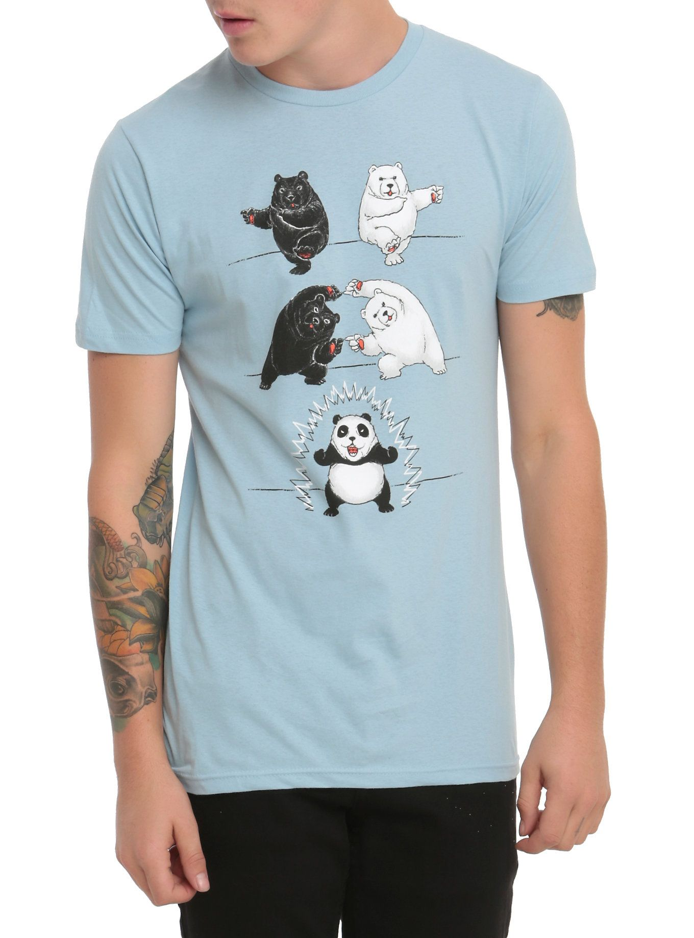 91086e46404e8 Ultimate Fusion Panda T-Shirt | Birthday Wishlist | Shirts, Graphic ...