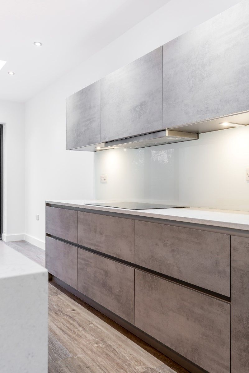 Our Nolte Handleless Kitchen In Stone And Bretton Has An