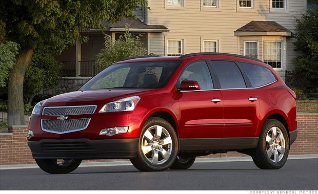 Best Resale Value Cars Chevrolet Traverse Chevrolet Chevrolet Suv