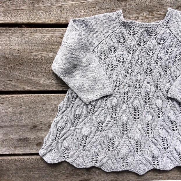 Knitting for Olive: PÅFUGLEKJOLE strikkeopskrift