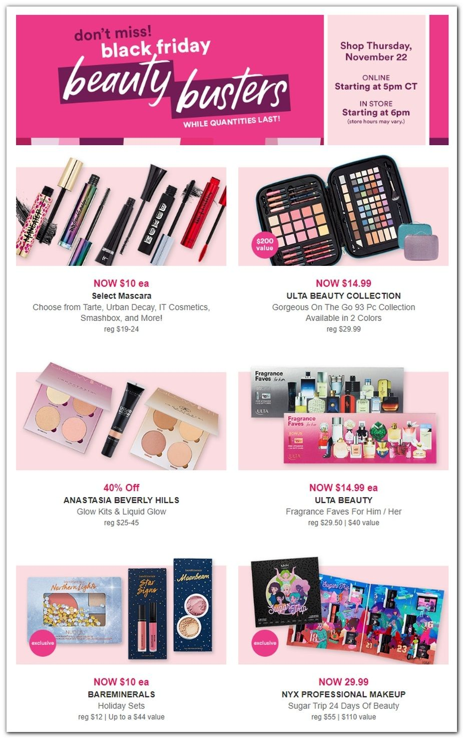 Urban Decay Black Friday 2020 Deals Discounts And Offers Now Black Friday Ads Black Friday Makeup Ulta Beauty