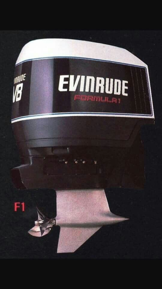 Evinrude F 1 400hp V8 Outboard Performance Class Opc