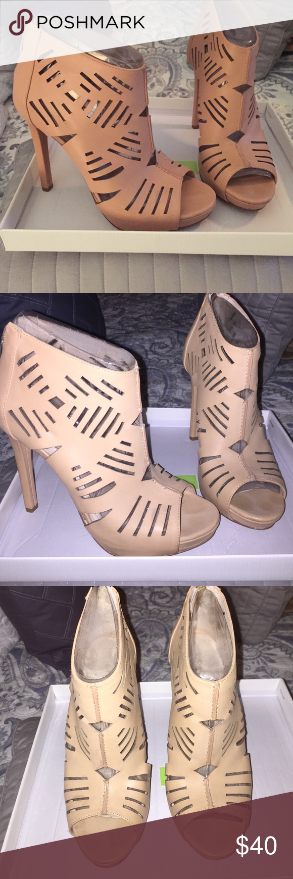 BCBGeneration Cut Out Heel LIKE NEW*** BCBGeneration Morocco Cut Out Heel BCBGeneration Shoes Heels
