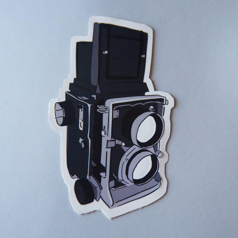 2 Nikon Camera DSLR Premium Die Cut Vinyl Sticker Decal