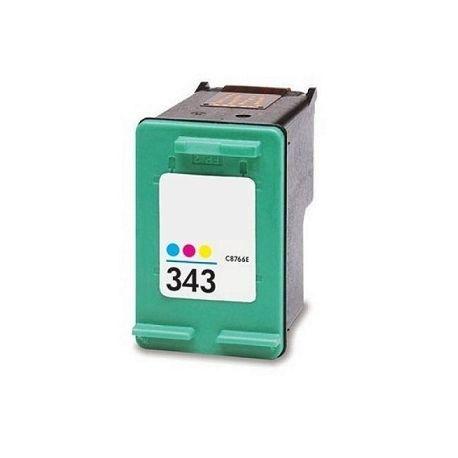 Hp 343 Tricolor Cartucho De Tinta Remanufacturado C8766ee