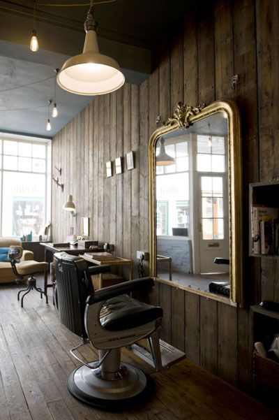 Truffle Hair Salon Love The Wood Walls And Floors Not To Crazy
