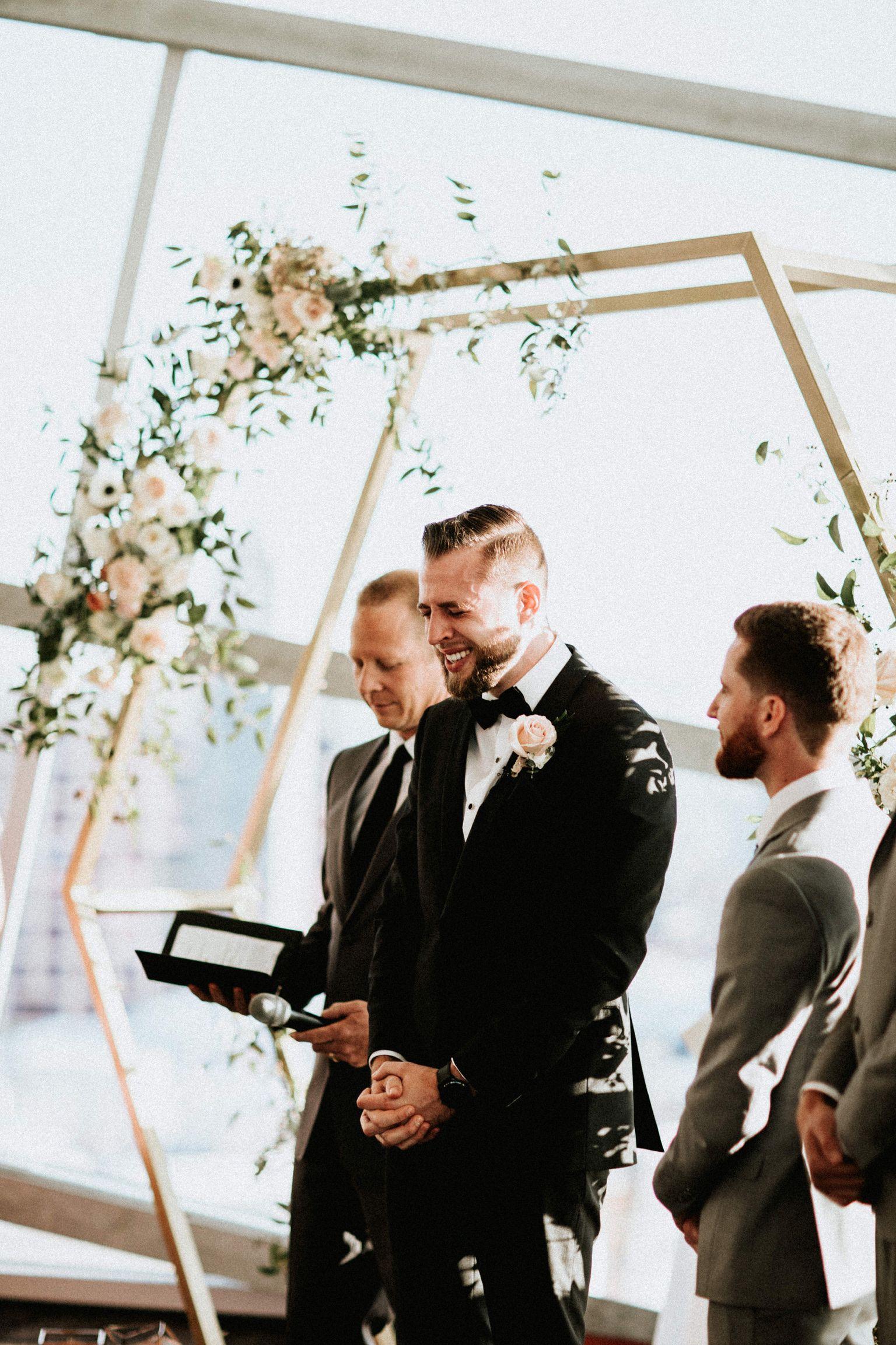Grooms reaction hehe san diego wedding venues san diego