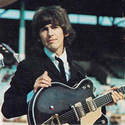 George Harrisons 62 Gretsch Guitar Harrison Was The Youngest Of Beatles And