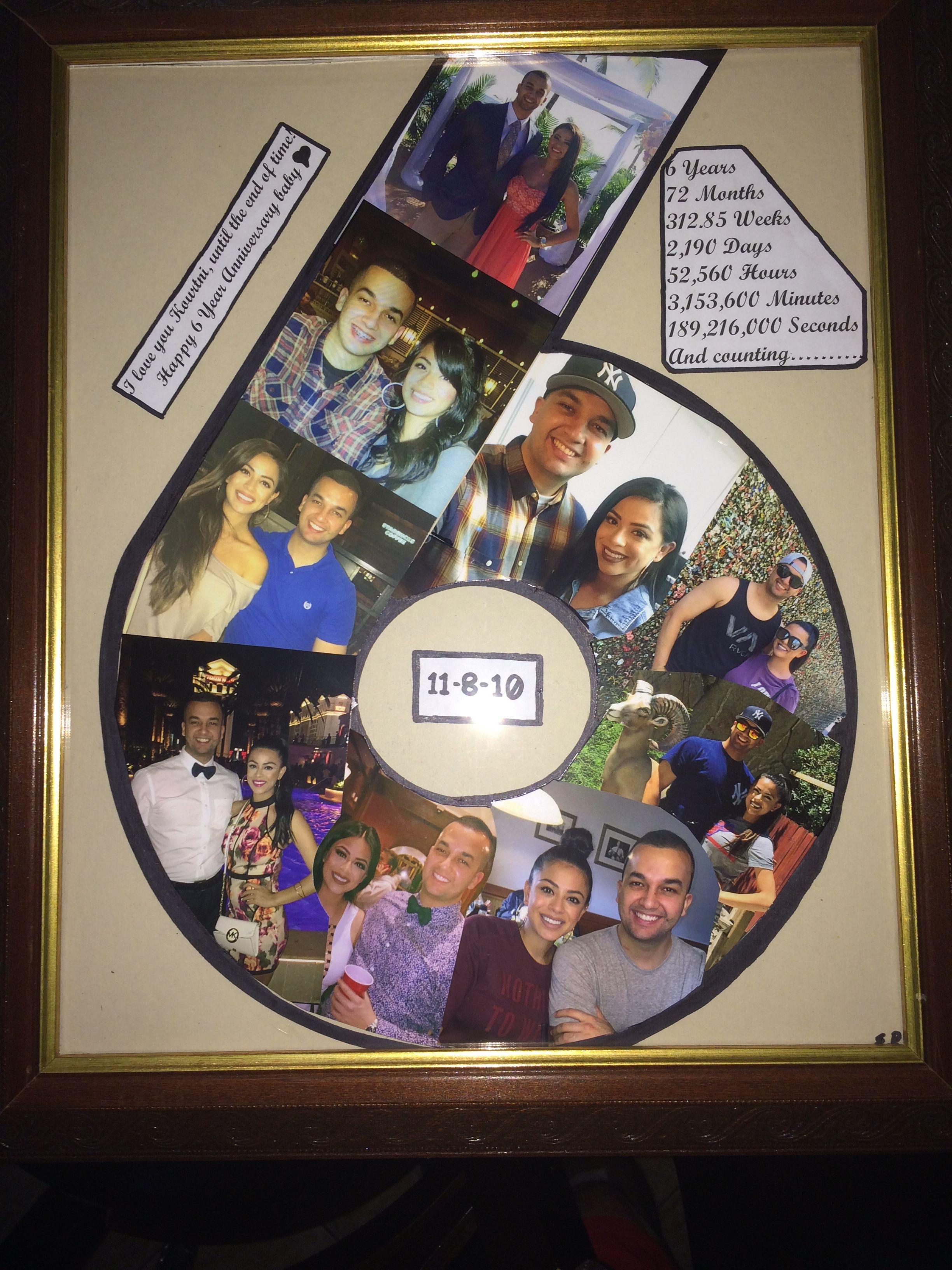 6 Year Anniversary Gift With Images Girlfriend Anniversary