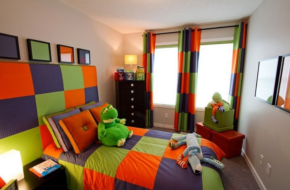 Split Complementary Color Scheme The Split Complementary Colors Are Blue Orange And Green These Are Foun Colorful Kids Room Kids Interior Room Kid Room Decor