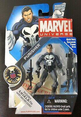 "3-3//4/"" Action Figure Hasbro : MARVEL UNIVERSE SEALED FURY FILES"