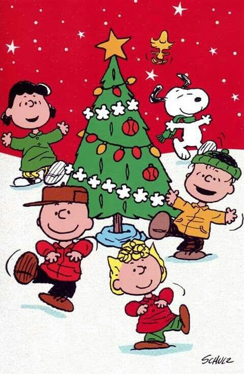 Christmas Dancing Cartoon.Christmas Dance Party Christmas Snoopy Christmas